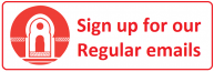 Sign up for emails icon icon